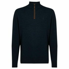 Polo Golf Half Zip Merino Jumper