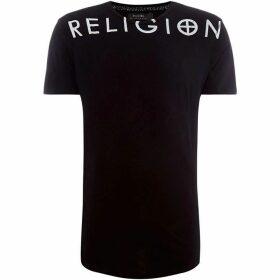 Religion Large Chest Logo T-Shirt