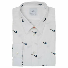 PS by Paul Smith Tailored Fit Pipe Print Shirt