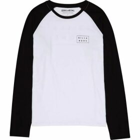 Billabong Two Line Logo Contrast Long Sleeve T-Shirt