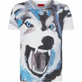 Hugo Dolfrin Wolf Graphic T-Shirt
