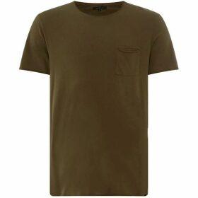 Label Lab Raw Edge Pocket T-Shirt