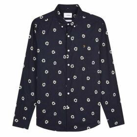 Farah Long Sleeve Print Shirt