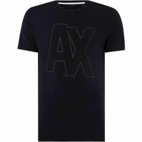 Armani Exchange Large Logo T-Shirt