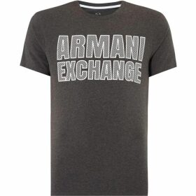 Armani Exchange Dotted Logo T-Shirt