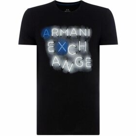 Armani Exchange Lights logo T-Shirt