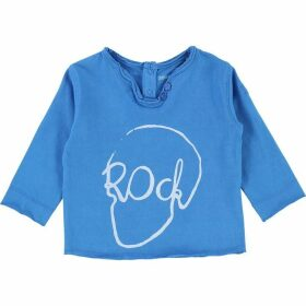 Zadig and Voltaire Baby Long Sleeved Blue T-Shirt
