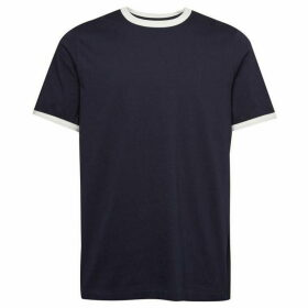 French Connection Frans Jersey Tipped T-Shirt