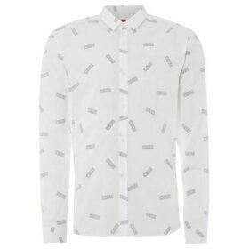 Hugo Ero All Over Logo Print Shirt
