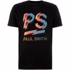 PS by Paul Smith Multi Coloured Logo T-Shirt