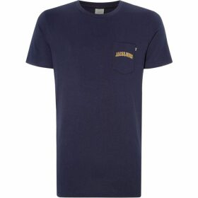 Jack and Jones Harvey Logo Pocket T-Shirt