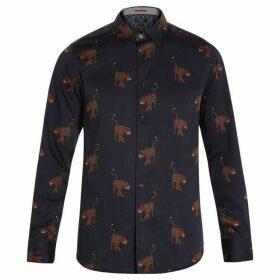 Ted Baker Pantha Panther Print Shirt