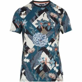 Ted Baker Jolly Abstract Floral Print T-Shirt