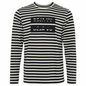 French Connection Deju Vu Striped Tee