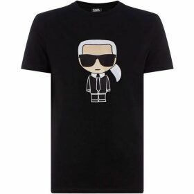 Karl Lagerfeld Large Embroidered Karl T-Shirt