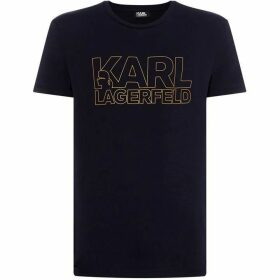Karl Lagerfeld Large Wording Karl Lagerfeld T-Shirt