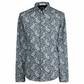 Pretty Green Slim Fit Liberty Print Shirt