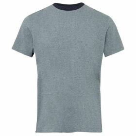 French Connection Block Side Panel Cotton T Shirt