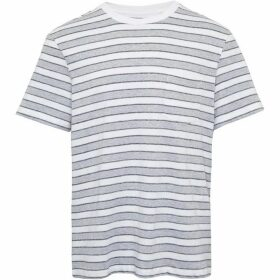 French Connection Melange Stripe Relaxed T-Shirt