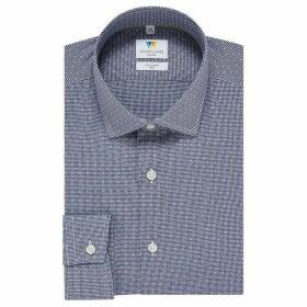 Richard James Gingham Dobby Slim Fit Shirt