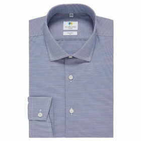 Richard James Horizontal Stripe Slim Fit Shirt