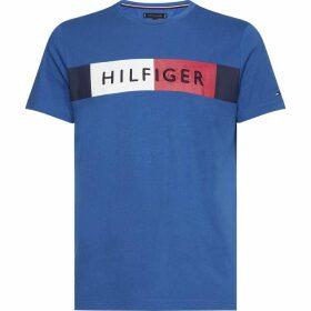Tommy Hilfiger Logo Stripe T-Shirt