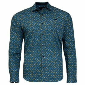 Raging Bull Big And Tall Multi Floral Print Shirt