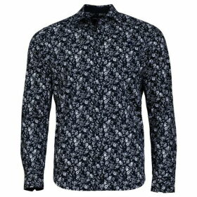 Raging Bull Big And Tall 2 Colour Floral Print Shirt