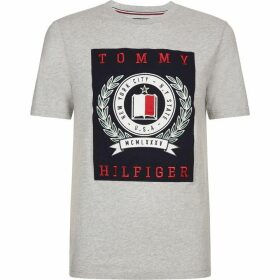 Tommy Hilfiger Embroidered Graphic Patch T-Shirt