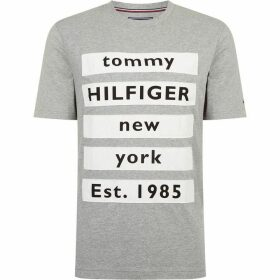 Tommy Hilfiger Block Text T-Shirt
