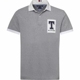 Tommy Hilfiger Rugby Logo Polo T-Shirt