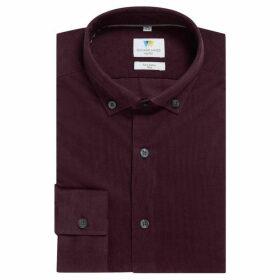 Richard James Needlecord Slim Fit Shirt