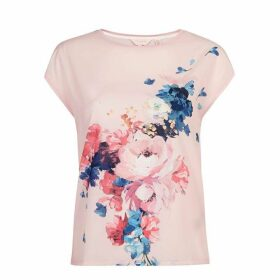 Ted Baker Santula Raspberry Ripple Printed T-Shirt