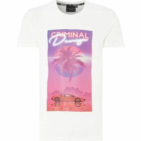 Criminal Damage Vice Graphic Print T-Shirt