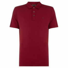 Michael Kors Liquid Jersey Polo Shirt