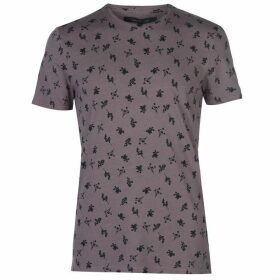 Label Lab Ursa Overdyed Floral Cluster Print T-shirt