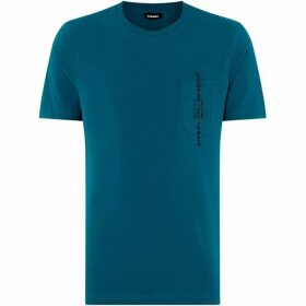 Diesel Vertical Pocket Logo T-Shirt