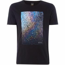 Boss Teyne Iridescent Graphic T-Shirt