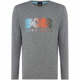 Boss Togn1 Long Sleeve Logo T-Shirt