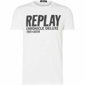Replay Basic T-Shirt With Logo