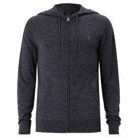 All Saints Mode Merino Zip Hoody