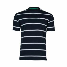 Raging Bull Big & Tall Breton Stripe T-Shirt