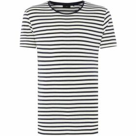 Minimum Striped Crew Neck T-Shirt