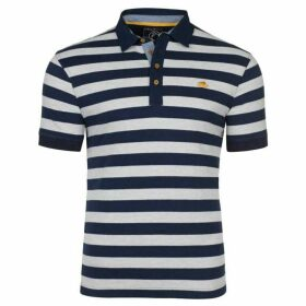 Raging Bull Big & Tall Stripe Jersey Polo