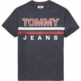Tommy Jeans Stripe Logo T-Shirt