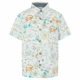 Monsoon Sketch Print Shirt