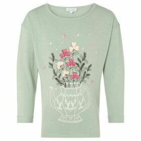 Rose and Wilde Ophelia Teapot Print Longsleeve T Shirt