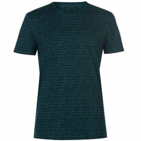 Label Lab Lyra All-over Textured Lines Print T-shirt