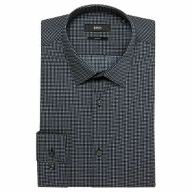 Boss Isko Slim Fit Geo Print Shirt