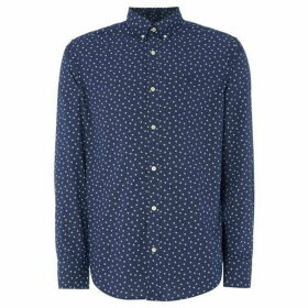 Gant All Over Star Print Shirt